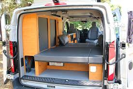 Converted Vans Sportsmobiles Ford Transit Van Conversion