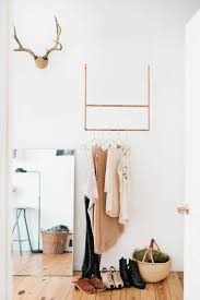 ... Wardrobe Racks, Hanging Clothes Rack From Ceiling Hanging Clothes Rack  Wall Mounted Minimalist Closet: