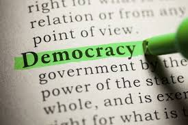short speech on democracy words
