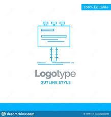 Bill Logo Design Blue Logo Design For Ad Advertisement Advertising