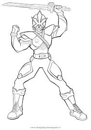 Power Rangers Coloring Page S7515 Mighty Power Rangers Coloring