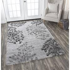 adana grey floral area rug 7u0026x27 grey floral area rug o73 floral