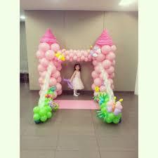 Princess Balloon Decoration Balloon Fantasy Princess Castle Decoration Artsyballoons