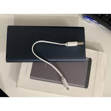 Pin Sạc Dự Phòng Xiaomi Gen 3 10.000 mAh Phiên Bản Nâng Cấp Xiaomi Gen 2S -  2 Cổng USB và 1 Type C (Bảo Hành 12 Tháng)