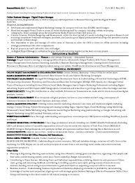 Marketing Job Resume Examples Marketing Executive Sample Resume