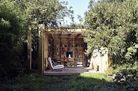 office in the garden. To Physically Separate Your Job And Home Life, Why Not Think About Taking Office Into The Garden? In Garden
