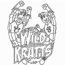 Small Picture Wild Kratts Coloring Pages Free Printable Wild kratts and