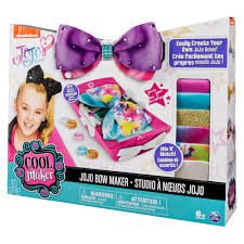 cool maker jojo siwa bow maker with rainbow and unicorn patterns for ages 6 and up edition may vary com