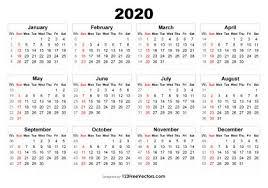 Image Of 2020 Calendar 210 2020 Calendar Vectors Download Free Vector Art