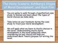 huck s moral development essay  huck s moral development essay