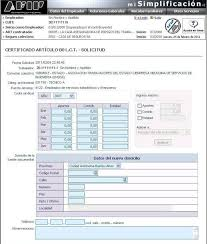 Certificado Del Art 80 A Traves De Mi Simplificacion Contadores