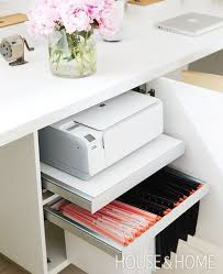 diy office storage ideas. Awesome Printer Cabinet With Sliding Shelf Best 25+ Storage Ideas On Pinterest | Desk Diy Office W