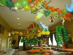 Jungle Decoration Dreamark Events Blog Tropical Jungle Birthday Party