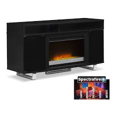 contemporary fireplace tv stand. Entertainment Furniture Pacer 56 To Contemporary Fireplace Tv Stand American Signature