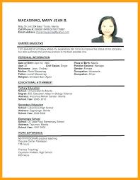 Sample Resume For Job Pelosleclaire Com