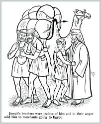 Joseph Coat Of Many Colors Coloring Pages And His Coat Coloring Page