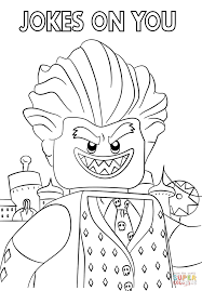 Lego Batman Coloring Pages To Print
