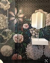 Bathroom tile mural ...