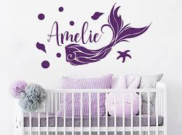 wall decal printing growth chart girl