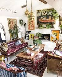 The Bohemian Living Room Style With Regard To Bohemian Living Room Bohemian Living Rooms