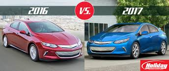 All Chevy chevy 2016 volt : 2017 Chevy Volt vs 2016 Chevy Volt
