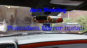 diy camaro frameless auto dimming rearview mirror install diy camaro frameless auto dimming rearview mirror install
