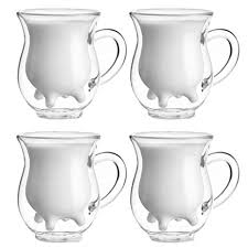 250ml Handcraft Borosilicate Glass Cup Creative ... - Amazon.com
