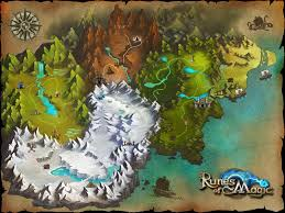 mapa de runes of magic  runes of magic map  maps  pinterest