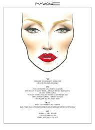 Mac Marilyn Make Up Look In 2019 Makeup Face Charts Mac