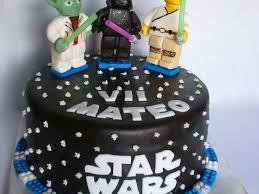 Star Wars Lego Decorations Star Wars Lego Birthday Cake Cakecentralcom