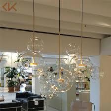 new modern glass ball bubble led
