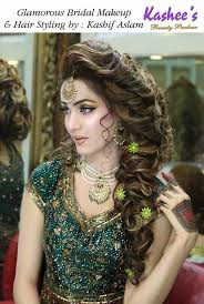 kashees makeup and hairstyle pictures for brides 2017