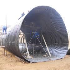 1200g m2 galvanized corrugated steel culvert pipe