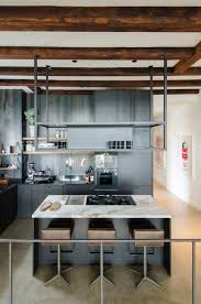 Modern Microwave kitchen black kitchen marble island wooden beams modern 4228 by guidejewelry.us