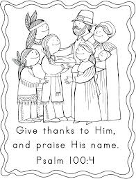 Free Christian Thanksgiving Coloring Pages Biblical Thanksgiving