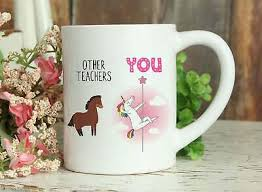 Check out our unicorn coffee mug selection for the very best in unique or custom, handmade pieces from our кружки shops. Teacher Coffee Mug Funny Teacher Gift Teacher Unicorn Mug Mug For Teacher Dinnerware Serveware Mugs