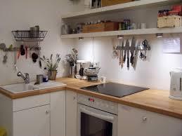 Einfache Küchenzeile