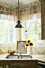 Beach Curtains For Kitchen How To Make Kitchen Curtains And Valances Burlap Valance Ideas