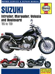 suzuki intruder volusia marauder 700 750 800 boulevard c50 m50 you are bidding on a brand new haynes manual covers suzuki intruder