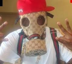 gucci mask. cooterclark: \u201c gucci gas mask smoke wayd dreams \u201d now you can have swag in