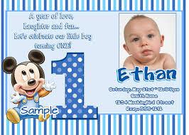 st birthday invitation card for baby boy bdabeedb nice 1st birthday invitations templates free