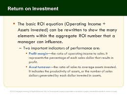 35 return on investment the basic roi equation