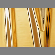 Gold High Gloss Metallic Self-Adhesive mylar wall contact paper: 201x4528 |  Glossy Mylar