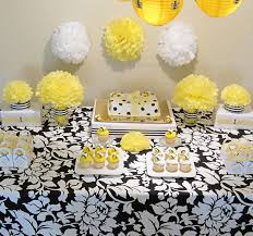 Interior Design  Top Bumble Bee Themed Baby Shower Decorations Bumble Bee Baby Shower Party Favors