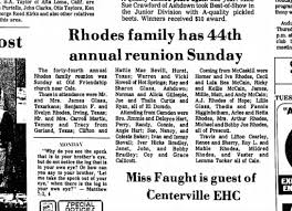 Rhodes, Arkansas - Newspapers.com