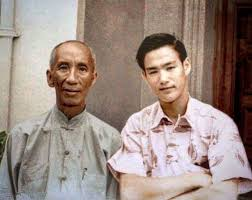 Yip Man y Bruce lee. | Bruce lee quotes, Bruce lee, Kung fu movies