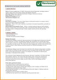 Resume It Operation Manager Job Description Laredo Roses