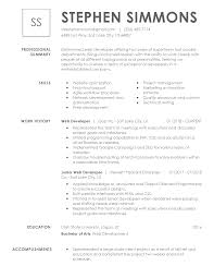 written resume free resume examples by industry job title livecareer