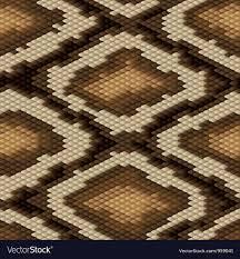 Python Pattern Awesome Seamless Python Snake Skin Pattern Royalty Free Vector Image