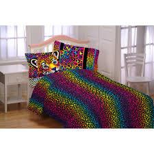 lisa frank wildside bedding set comes with sheets and comforter com